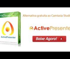 Active Presenter Alternativa Gratuita ao Camtasia Studio