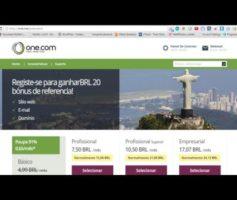Domínio e hospedagem por apenas R$ 2,80 primeiro ano One.com