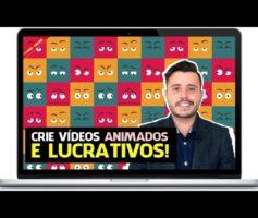 Crie vídeos animados altamente lucrativos Bruno Marinho Por dentro do curso criar video animado